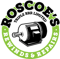 Roscoes Rewinds & Repairs Logo